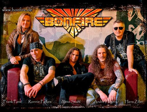 BONFIRE – Neues Studioalbum und Tournee
